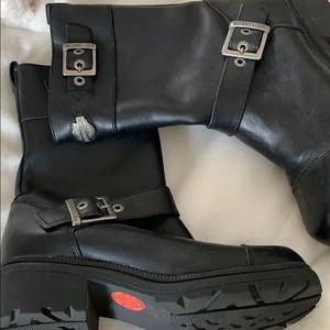 Harley Davidson boots!
